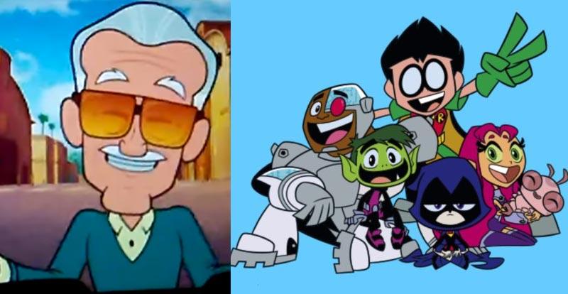 Stan Lee makes DC cameo!