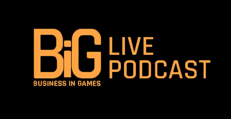 Business in Games live podcasts announced