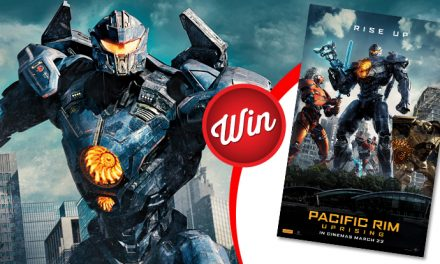 Win a Pacific Rim: Uprising poster signed by Scott Eastwood and John Boyega