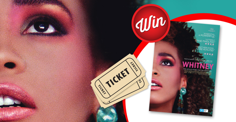 Win 30 in-season movie tickets to see Whitney