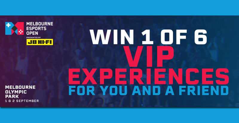 Win an esports VIP experience for you and a friend – flights & accommodation included!