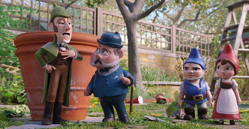 Sherlock Gnomes on DVD and Blu-ray July 11