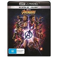 4K August 2018 - Avengers: Infinity War