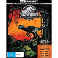 4K September 2018 - Jurassic World 5-movie collection