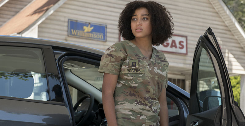 Interview with Amandla Stenberg – The Darkest Minds