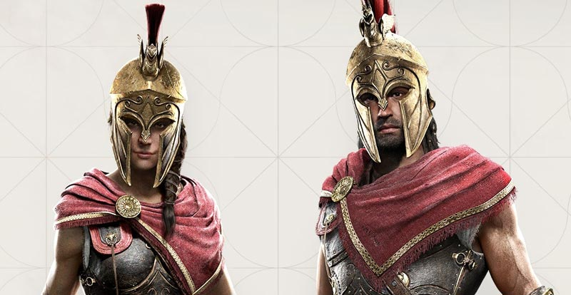 Assassin's Creed Odyssey – meet the heroes