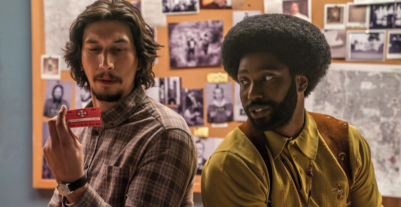 BlacKkKlansman – review