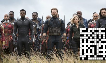 Assemble! It's the Avengers crossword