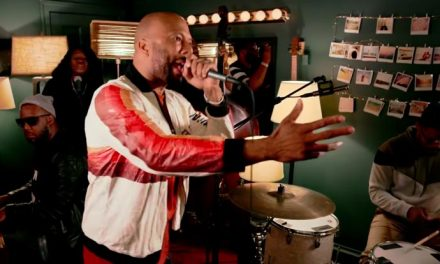 Common's supergroup hits 'Livin' on a Prayer'
