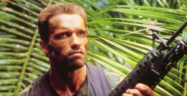 Get to da controller! Arnie in Predator game