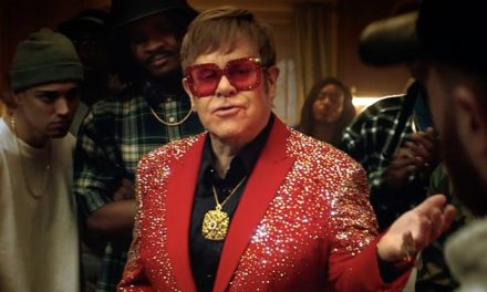 Elton John is down for a Snickers rap battle