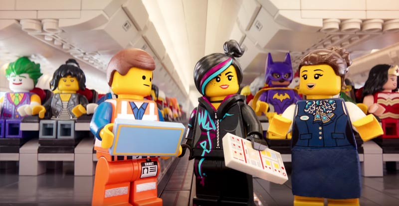 The LEGO Movie cast hijack Turkish Airlines' safety video