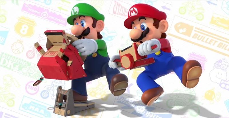 Nintendo Labo + Mario Kart = WAHOO!