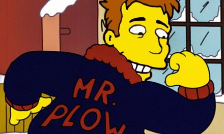 Liam Neeson is Mr Plow!