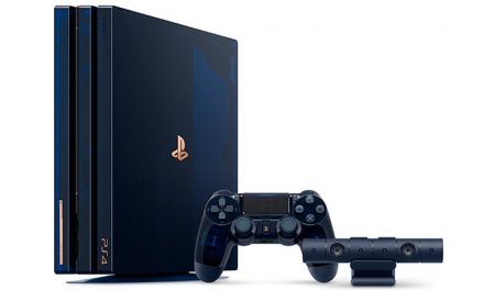 Hey true blue! PS4 500 million limited edition incoming