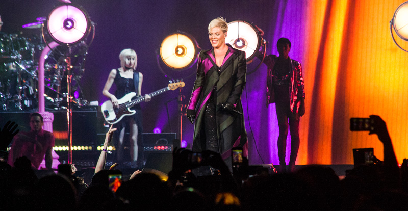 P!nk @ Brisbane Entertainment Centre – live review