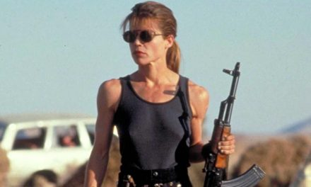 First look at Linda Hamilton in new Terminator