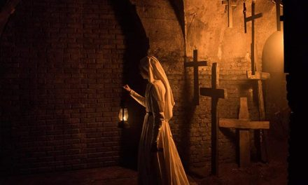 """The Nun goes """"Boo!"""" with two new spots"""