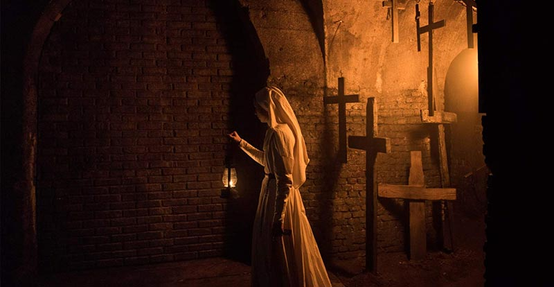 "The Nun goes ""Boo!"" with two new spots"