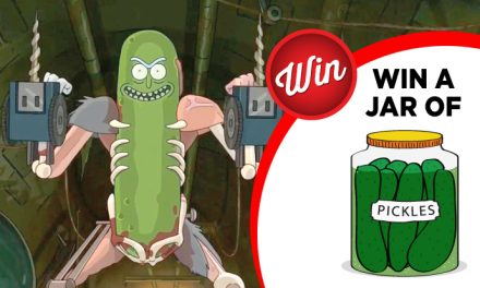 """I'M PICKLE RIIIIIIIIICK!"" – win a jar of pickles with Rick & Morty"