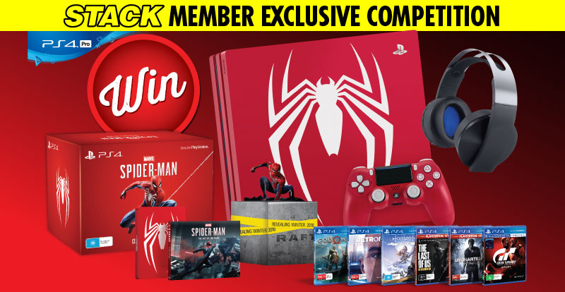 STACK member competition: win a Limited Edition Marvel's Spider-Man