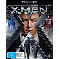 4K October 2018 - X-Men: Beginnings Collection