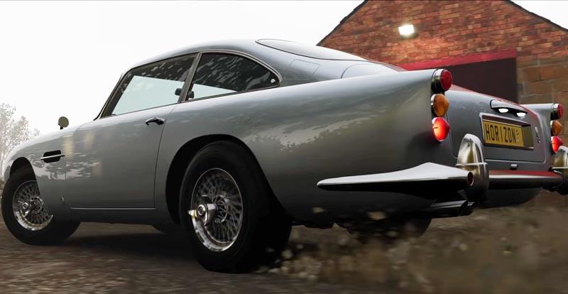 Drive like James Bond as 007 hits Forza Horizon 4