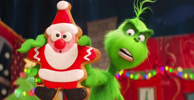 The Grinch gets an injection of 'Happy'?
