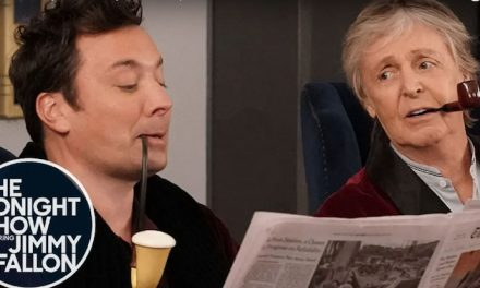 Paul McCartney and Jimmy Fallon surprise fans in an elevator!