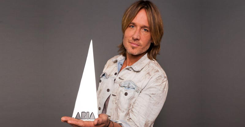 The ARIA Awards 2018 – Keith Urban gets the point!
