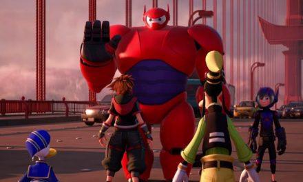 Check out Big Hero 6 in Kingdom Hearts III