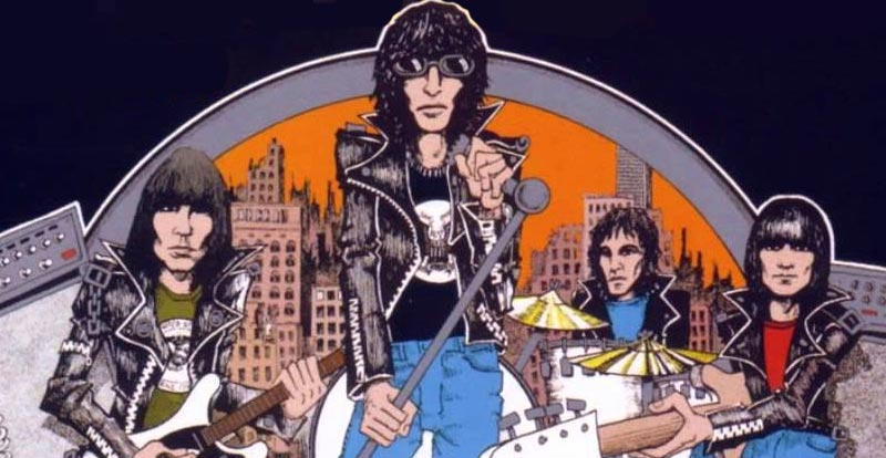 See unseen Ramones video from 1978!
