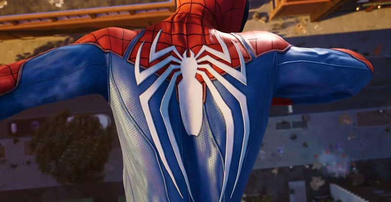 The white stuff – redesigning the Spider-man suit