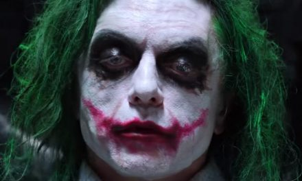 Tommy Wiseau gets his Joker on – again!
