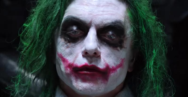 Tommy Wiseau gets his Joker on – again!