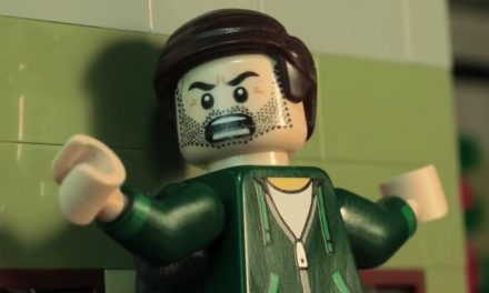 Goo vibrations – the Venom trailer in LEGO