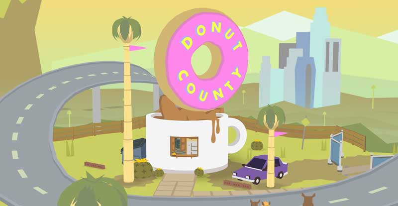 Alienware plays Donut County
