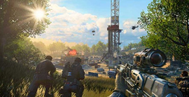 Here's some Call of Duty: Black Ops 4 Blackout gameplay