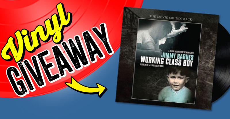 New release vinyl giveaway: Jimmy Barnes, 'Working Class Boy'