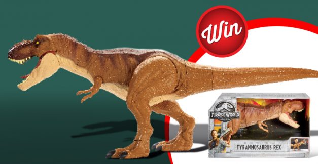 Win: Three Jurassic World Super Colossal T-Rex toys