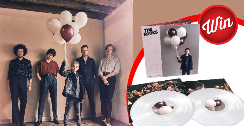 Win 'Let's Go Sunshine', limited edition white vinyl signed by The Kooks