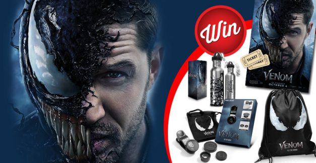 Win one of five Venom prize packs including movie tickets