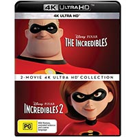 4K November 2018 - The Incredibles 2 Movie Collection
