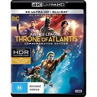 4K November 2018 - Justice League: Throne of Atlantis