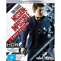 4K November 2018 - Mission: Impossible - 6 Movie Collection