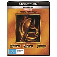 4K November 2018 - The Avengers: 3-Movie Collection