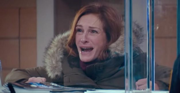 Julia Roberts gets emotional in Ben Is Back