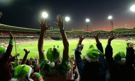 Big Bash cricket game coming home