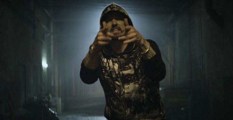 Watch Eminem spitting 'Venom'