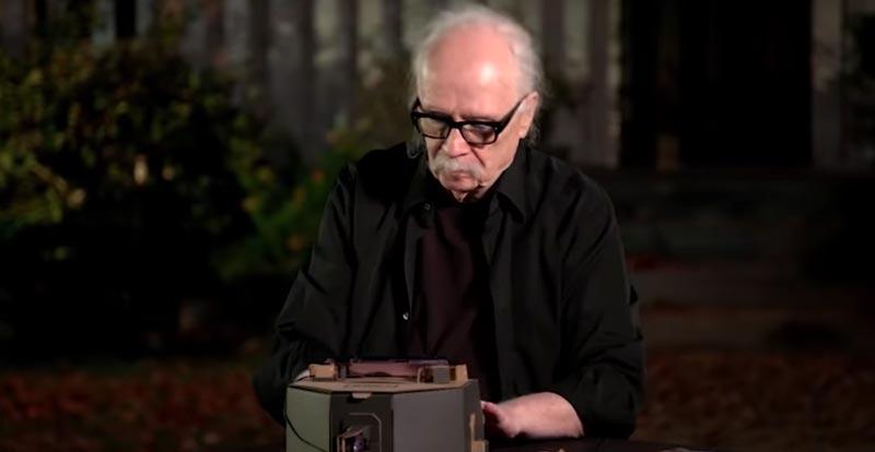 John Carpenter tries to play Halloween theme on Labo
